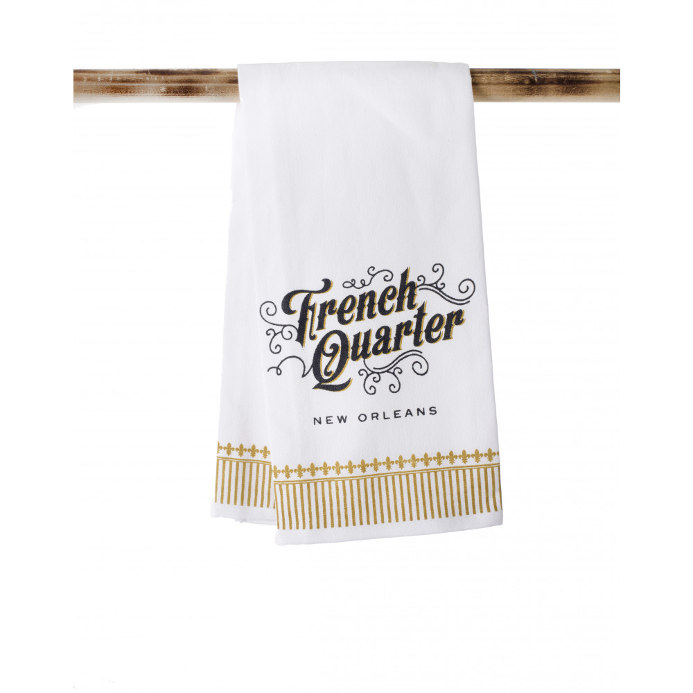 Kitchen Towel: French Quarter