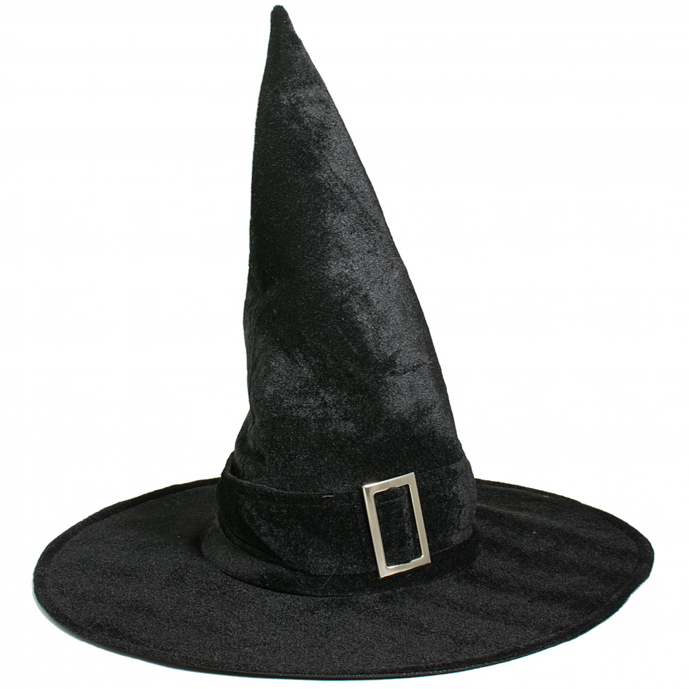17 5 Quot Velvet Witch Hat Black 3110 329a
