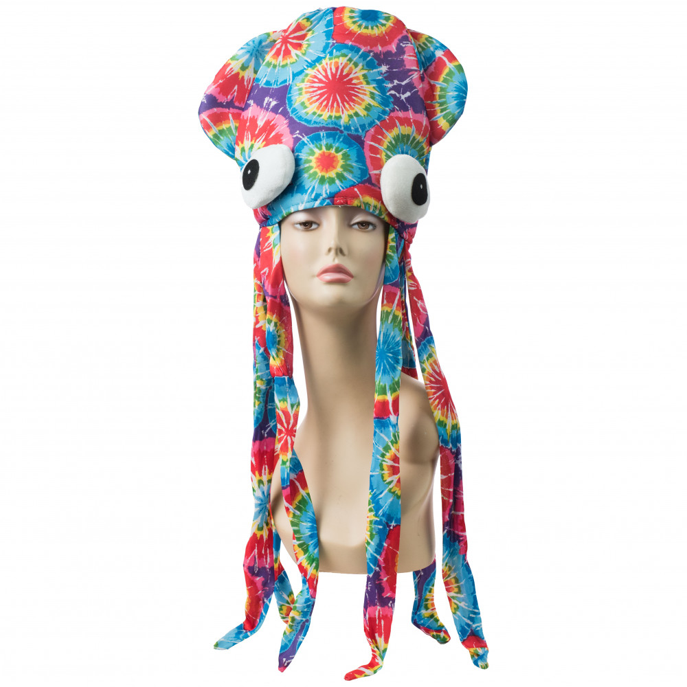 Tie Dye Squid Hat  27890MCAO  - MardiGrasOutlet.com 697a7eadeff