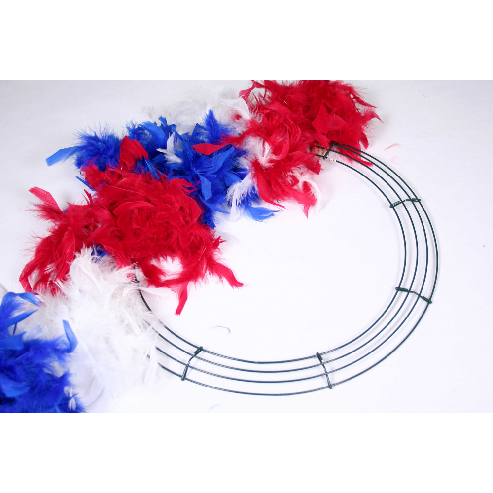 Box Wire Wreath Form: 16-inch Round [36005] - MardiGrasOutlet.com