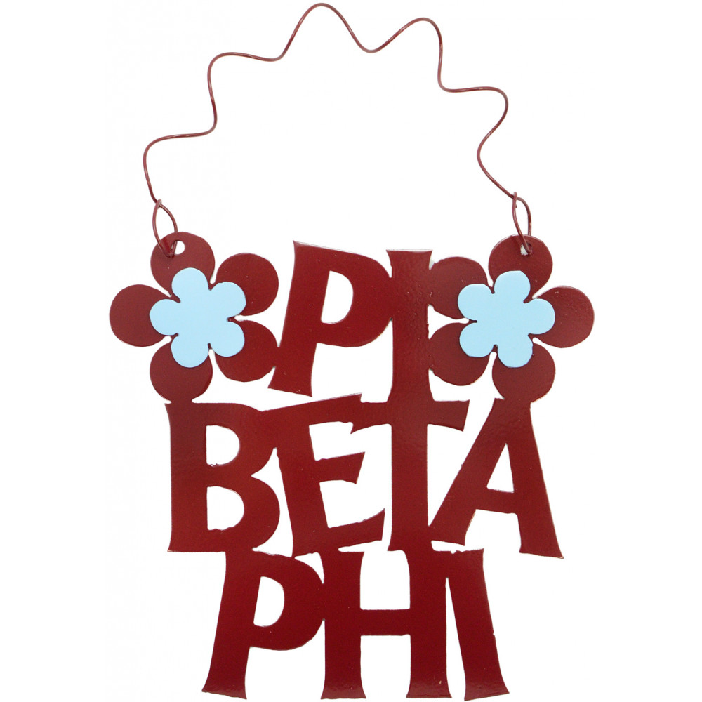 Pi Beta Phi Mascot Greek Letter Sticker - 2.5 Tall SALE