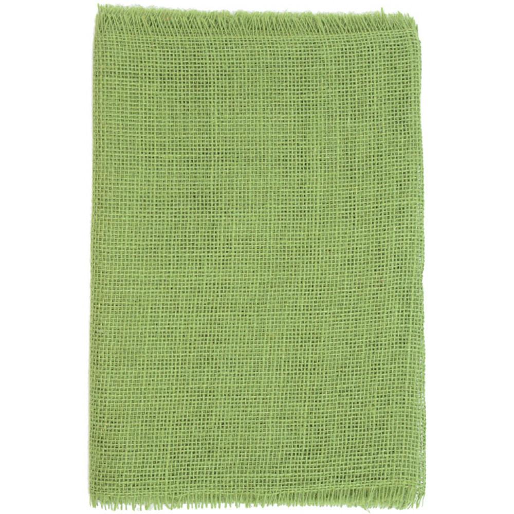6u0027 Frayed Edge Burlap Fabric Table Runner: Moss Green