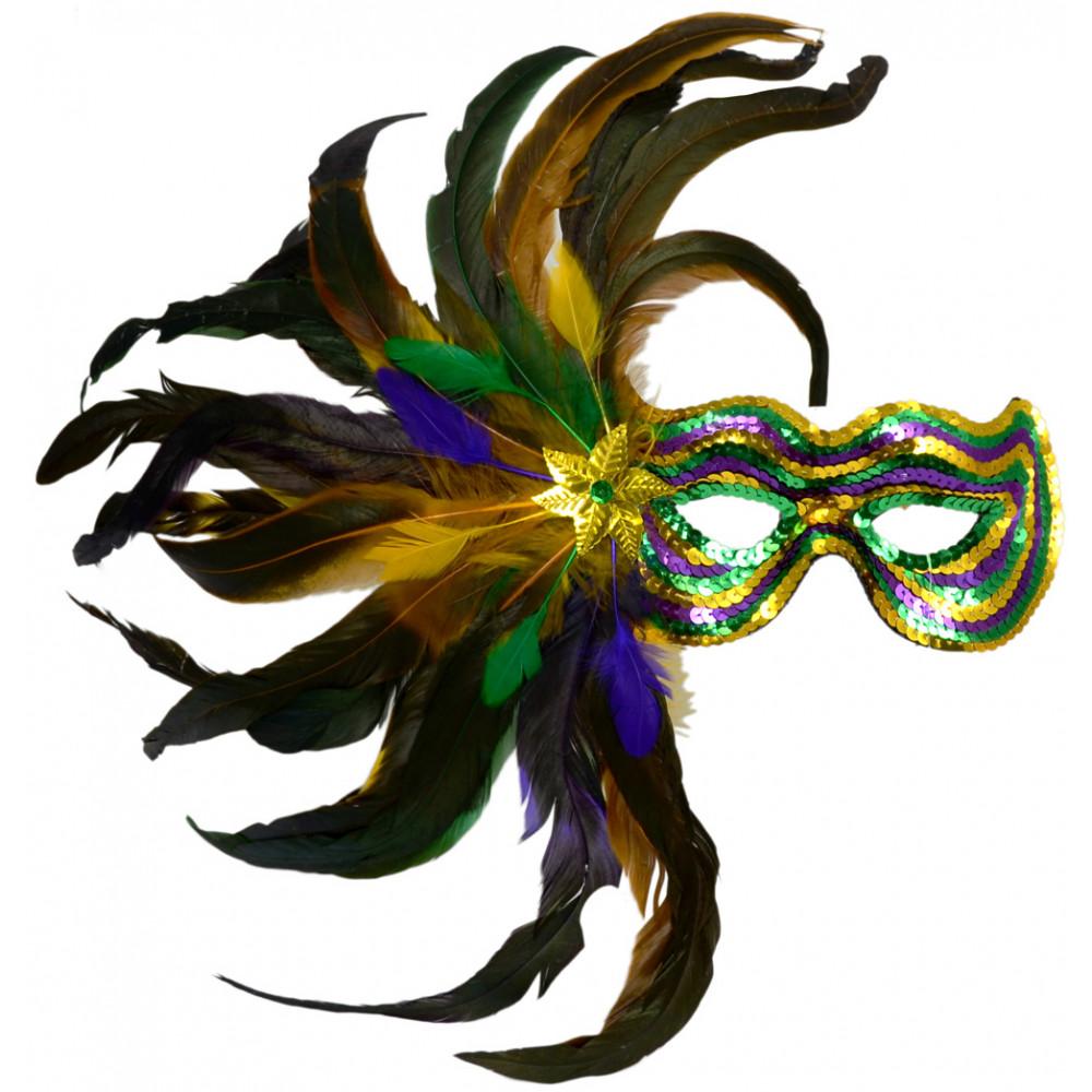 feather burst sequin mask pgg 36012 mardigrasoutlet com