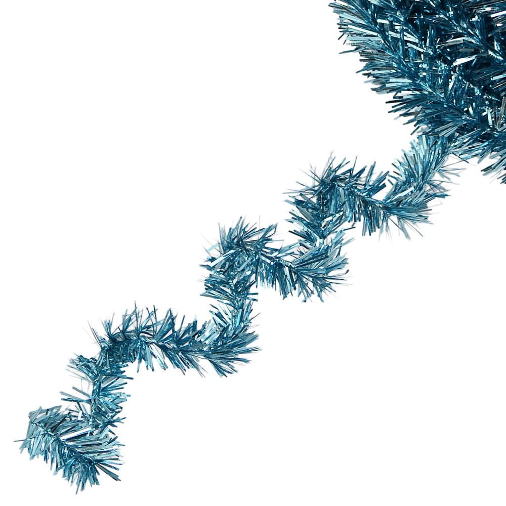 Metallic tinsel roping turquoise xg