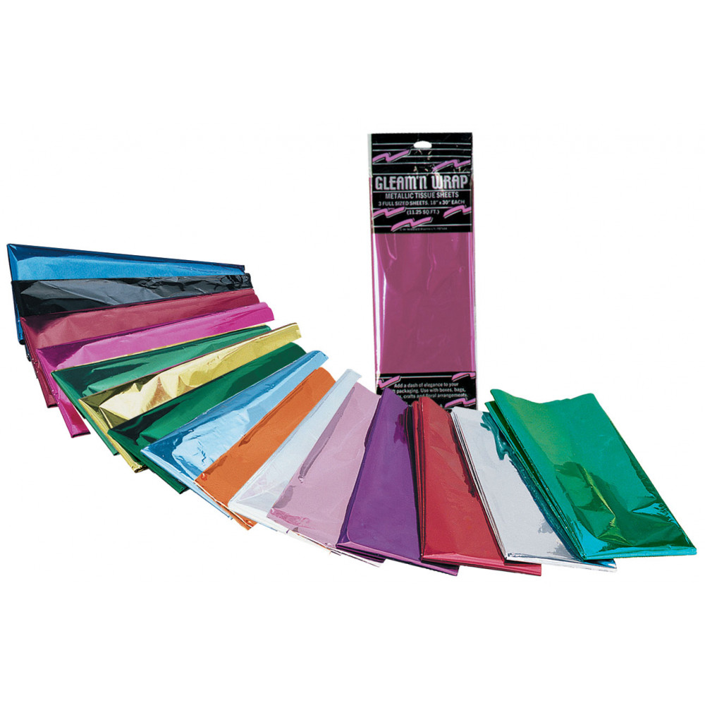 Mylar Tissue Sheets Purple Pack Of 3 50602 Pl