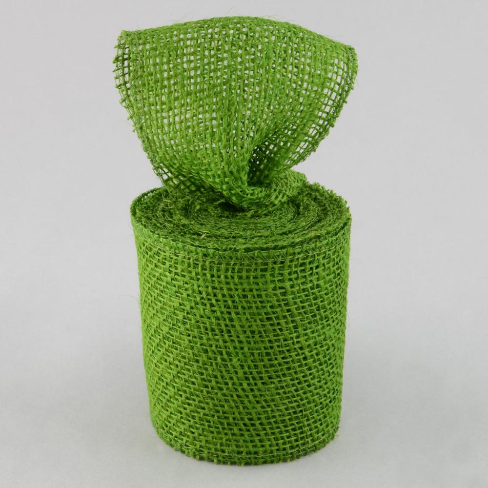 4 burlap ribbon olive green 10 yards jrh04 09 for Green burlap ribbon