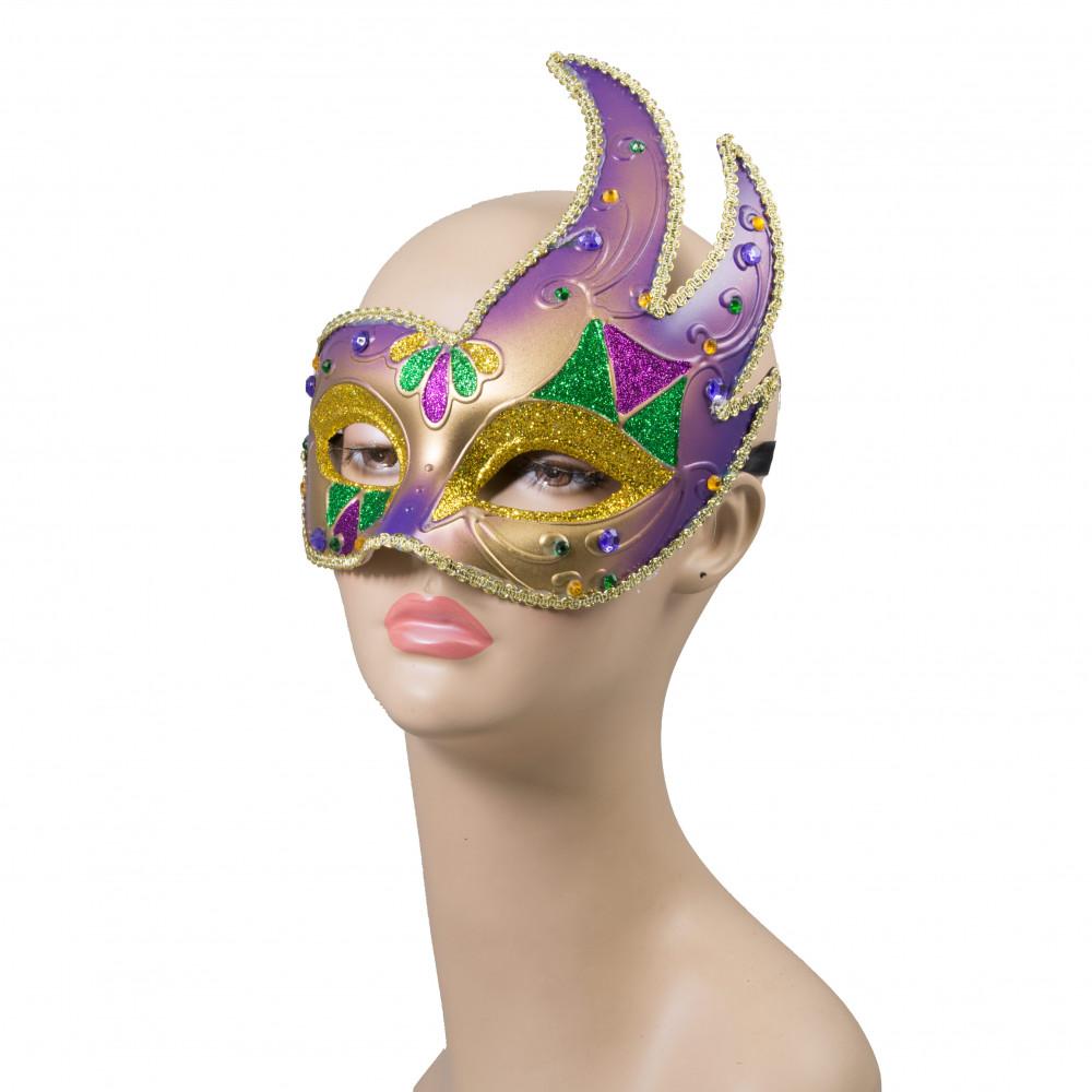 flared venetian princess mask 36008 grn gold mardigrasoutlet com