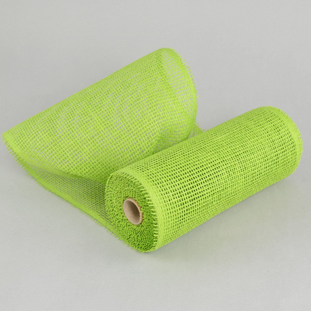 10 Quot Paper Mesh Roll Lime Green 10 Yards Rr800133