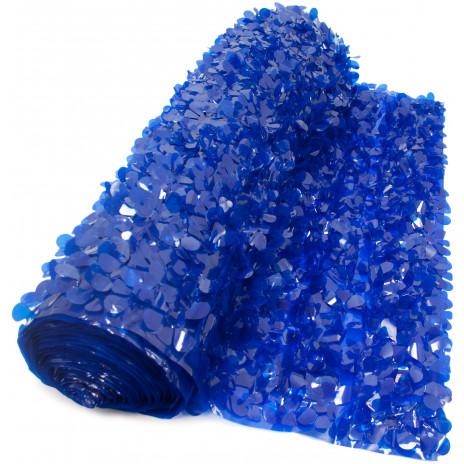 Floral Sheeting Petal Paper Dark Blue 10 Yards 285500