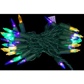 led mardi gras lights 40 light strand