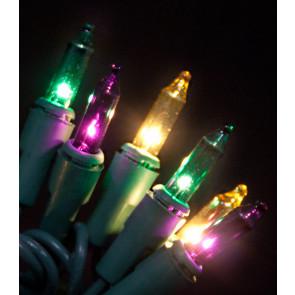 mini mardi gras lights 50light