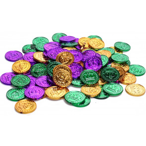 Coins & Doubloons - MardiGrasOutlet com